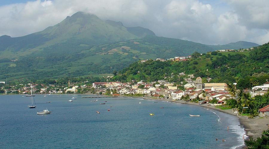 st pierre ancient capital of Martinique