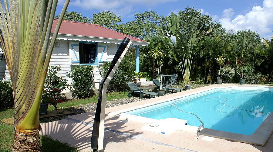bungalow alvisella at trois ilets in martinique