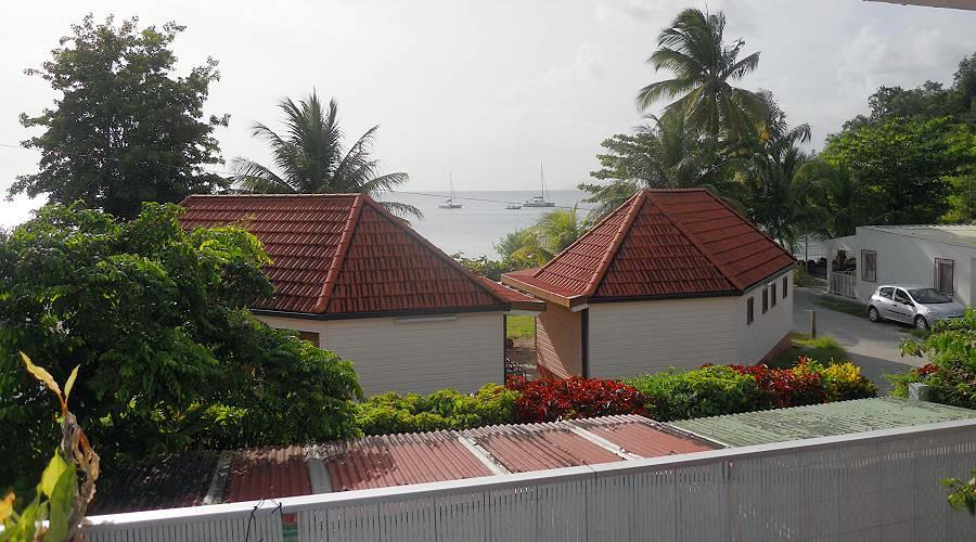 Apartments on the beach of Anse a L'Ane in Martinique