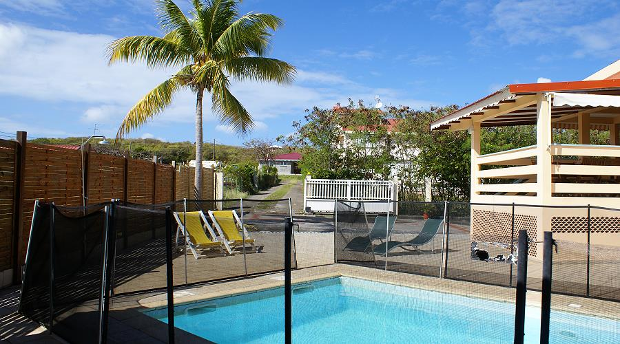 apartment villa sandrine at cap chevalier, sainte anne, martinique