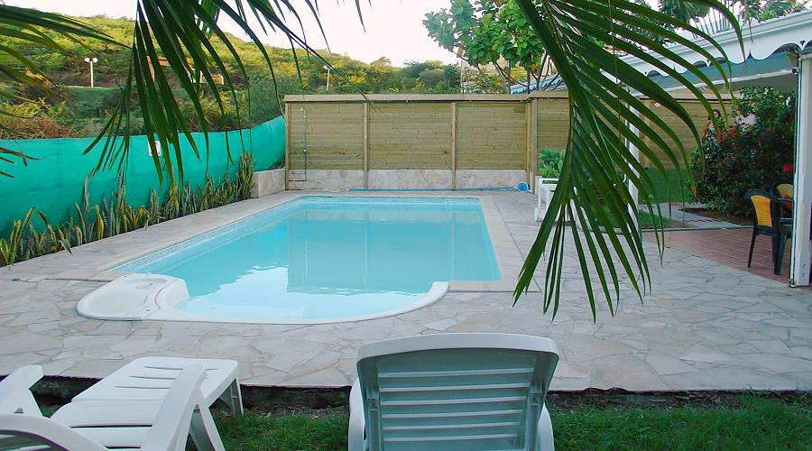 villa alize with pool near the beaches of sainte anne in martinique