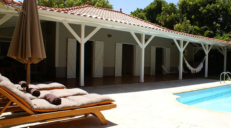 villa diane for 8 people in sainte anne martinique